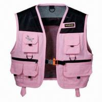 Wholesale Women's Fishing Vest, Waterproof, Windbreak, Easy to Dry, Available in Various Designs from china suppliers