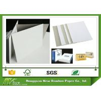 Wholesale Thickness 0.28mm-0.58mm Duplex Board with Grey Back One Side Coated for Packing from china suppliers