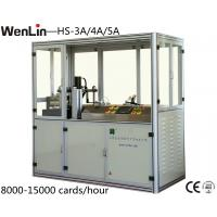 Wholesale 4.5KW id card punching machine 12000 - 18000 cards / hour 3 X 7 Layout from china suppliers
