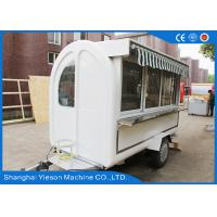 Wholesale Steel Ice Cream Mobile Food Trailers Food Vending Carts For Chips from china suppliers