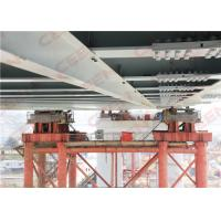 Wholesale Incremental launching construction of main bridge steel box girders from china suppliers