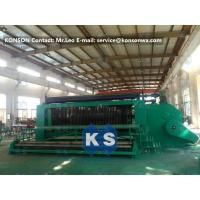 Wholesale 4.0mm Wire Hexagonal Mesh Machine Double Rack Drive For Making Gabion Baskets from china suppliers