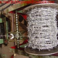 Wholesale 14x14 galvanized/pvc barbed wire 30m length /Barbed wire length per roll /barbed wire fence/barbed wire price from china suppliers