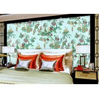 Wholesale Chinese Style beautiful bedroom wallpaper , Floral Birds Custom Removable wallpaper roll from china suppliers
