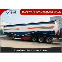 Wholesale 65cbm Bulk 3 Axles 80 Ton Silo Bulk Cement Tanker Trailer With Double Cabins from china suppliers