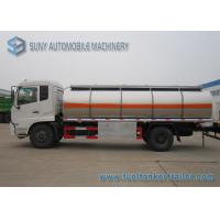 Wholesale Dong Feng Gasoline / Light Diesel 13m3 Stainless Steel Fuel Tank Truck 4x2 from china suppliers