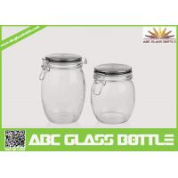 Wholesale Wholesale glass jars with rubber seal lids from china suppliers