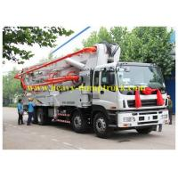 Wholesale ISUZU Japan concrete pump truck 65m3 / h with 25 meters boom with warranty and parts from china suppliers