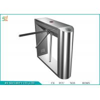 Wholesale Automatic Entrance Tripod Turnstile Gate / Half Height Speed Gate Systems from china suppliers