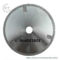 Wholesale Electroplated Cutting Blades - DESB03 (Straight protective teeth) from china suppliers