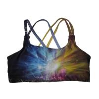 Wholesale OEM Design Over sized Sexy Sublimation Full Printing Yoga Sports Bra Custom  for Girl from china suppliers