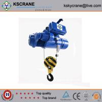 Quality China Made Two Speed Steel Rope Electric Hoist for sale