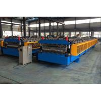 Wholesale 5T Roof Panel Double Layer Roll Forming Machine 0.3-0.8mm 18 Stations from china suppliers