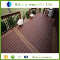 China Superior quality fence wpc decking wood plastic composite flooring board on sale