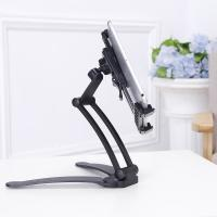 Wholesale Universal Foldable Aluminum Alloy Wall Mount Mobile Stand Tablet Holder for iPhone 7 for iPad from china suppliers