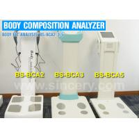 Wholesale Touch Screen Body Composition Analysis Machine , Body Fat Percentage Machine from china suppliers