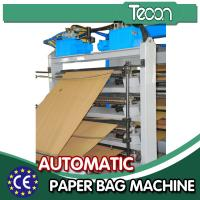 Wholesale CE Approval Cement Paper Bag Manufacturing Machine with 4 Colors Printing from china suppliers
