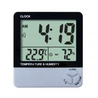 Wholesale HTC-1 Temperature and Humidity Meter Clock from china suppliers