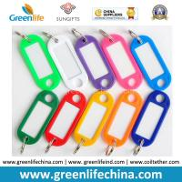 Wholesale Plastic Oval Shape Colorful Name Tag w/Small Key Ring Cheap Factory Price from china suppliers