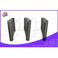 Wholesale TCP / IP RFID Reader Speedgate Turnstile Waist High Turnstile Sunscreen from china suppliers