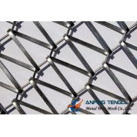 Wholesale Metallic Curtain Gama Flexi: Flat Spiral Wire + Crimped Rod Structure from china suppliers