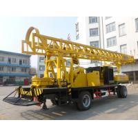 Wholesale BZCT400SZ/BZT400SZ/BZCT400/BZT400 400m trailer type diesel rotary water well drilling rig from china suppliers
