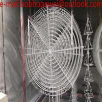Wholesale fan guard/steel wire fan cover/16'(443-447mm)fan parts/cooling fan net cover/ fan guard/Spiral Industrial Air Conditione from china suppliers