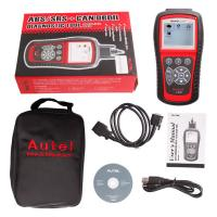 Wholesale Original Autel AutoLink AL619 OBDII CAN ABS And SRS Scan Tool Update Online from china suppliers