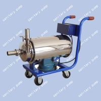 Wholesale BAW Mobile stainless steel sanitary pump, food pump, sanitary centrifugal pump, milk pump from china suppliers