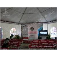 Wholesale Training 3M Large Shade Gazebo Canopy Tents With Sidewalls / Transparent PVC Windows from china suppliers