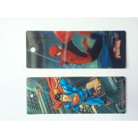 Wholesale Custom Plastic 3D Lenticular Bookmarks Printing With 3D Effect CMYK Printing from china suppliers
