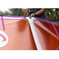 Wholesale Smart 4.2 Purple / Orange Freeride Wind Surf Sail Kevlar Frame Lightweight with 5 Battens from china suppliers