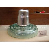 Wholesale Zinc Sleeve Available Toughened Glass Insulator With Ball / Socket Connect Way from china suppliers