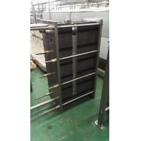 Wholesale 1000L / H Two-Section Type Plate Heat Exchanger Φ51 Material Diameter from china suppliers