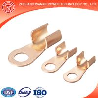 Buy cheap Copper Aluminium Bimetal Cable Lug with two holes on the palm/cable terminal/terminal lug sizes from wholesalers