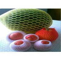 Wholesale Plastic Packaging Fruit Foam Net With Customized Design , Width 3cm-15cm from china suppliers
