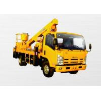 Wholesale Operating Radius 7.6m Boom Lift Truck XZJ5067JGK Horizontal Reaches Up To 18 Meters from china suppliers