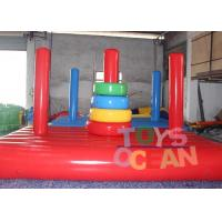 Wholesale Air sealed Inflatable Toss Game Target Throwing Sport Commercial from china suppliers