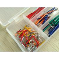 Wholesale Solid Solderless Breadboard Kit  14 different lengths 140Pcs Jumper Cable Kits With Box from china suppliers