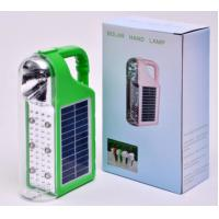 Wholesale Quality LED Solar Energy Light with Solar panels Poly 6V*1W and Lead acid battery 4V/3200MAH from china suppliers