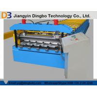 Buy cheap 7.5kw High Speed Metal Roof Roll Forming Machinery with Man-made Uncoiler for Lighting from wholesalers
