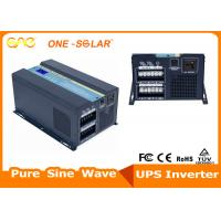 Wholesale 5KW Pure Sine Wave Hybrid Solar Inverter With AVR  Stabilizer from china suppliers