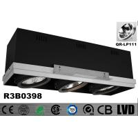 Buy cheap Trimless Square 75W Recessed Adjustable Downlight With Junction Box 3 Years Warranty from wholesalers