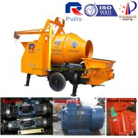 Wholesale Pully JBT40-P1 electric portable concrete mixer pump with high quality, mini drum concrete mixer pump from china suppliers