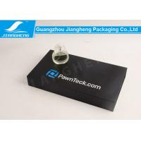 Wholesale Black Paper Perfume Sets Storage Box Paperboard Gift Boxes Offset Printing from china suppliers