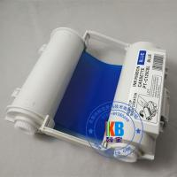 Wholesale compatible  Max bepop  CPM-100 HG3C  blue color ribbon cartridge 120mm*55m from china suppliers
