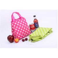 Quality Travel Foldable Polyester Cooler Bag Monogrammed Customized Size for sale