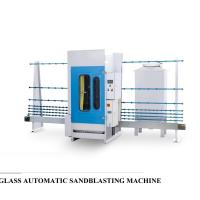 Wholesale Professional Auto Glass Edging Machine , Vertical Sandblasting Glass Equipment from china suppliers