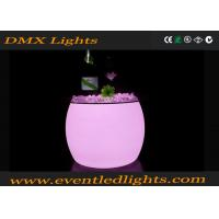 Wholesale Plastic mould home bar furniture glowing led bar table , illuminated cocktail table from china suppliers