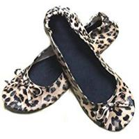 Wholesale New Fashion Fake Snake Skin of Foldable Ballerina Shoes for Wedding Gift Wholesale from china suppliers